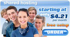 Windows Shared Web hosting